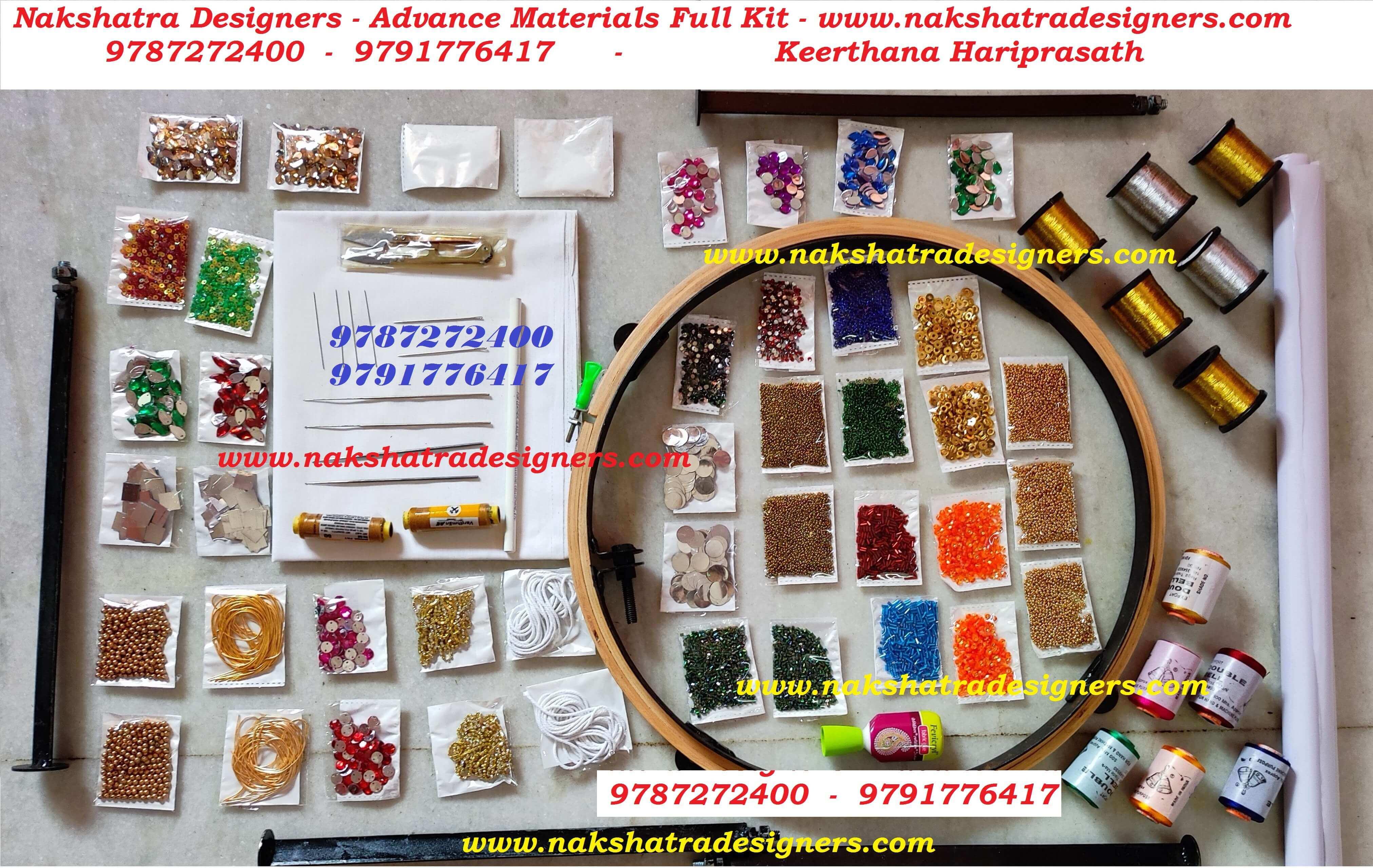 Aari Embroidery Materials 91 9791776417 91 9787272400